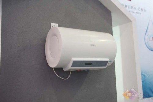 2010顺德家电展:万家乐燃气热水器展