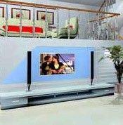 利用楼梯做电视墙
