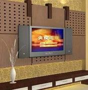 厚重和豪华的电视墙