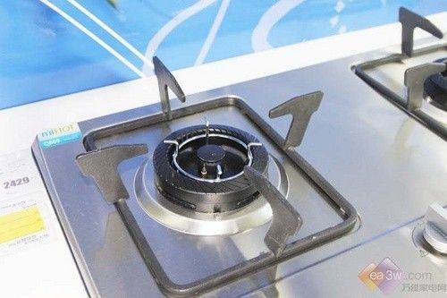 磨砂拉丝质感 美的燃气灶小资厨房必备