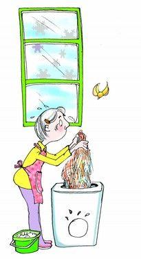 悲剧:新买洗衣机洗坏一家人羊毛衫
