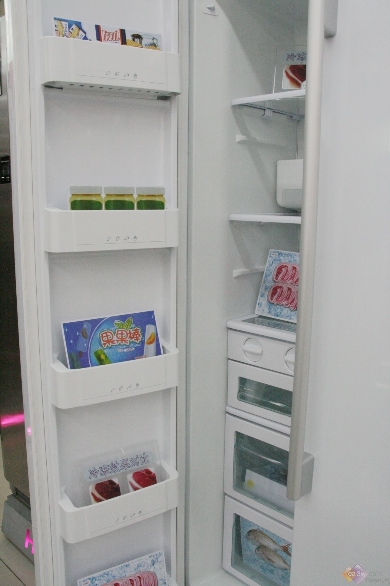 海尔冰箱579we风机电路图