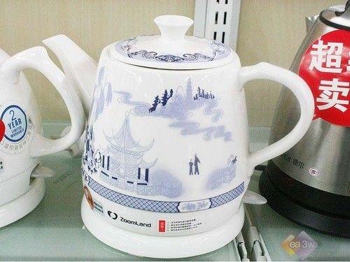 青花瓷魅力 卓朗电水壶F-610AX中国风