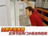 过新年买冰箱 实用节能两门冰箱选购指南