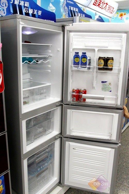 美菱冰箱现婀娜身姿 印花设计降价受捧