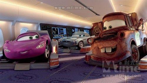 好莱坞动画《赛车总动员2》预告曝光