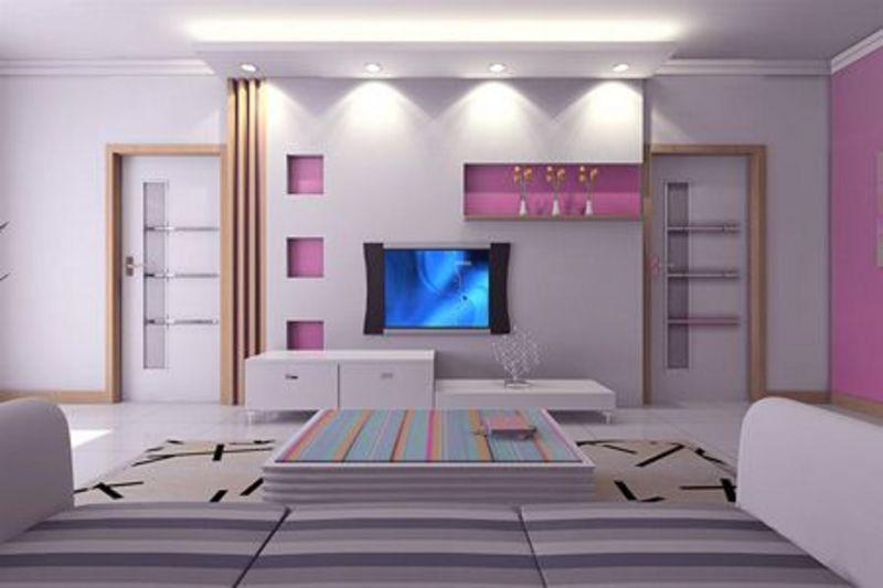 打造炫客厅!10款时尚电视背景墙赏析第8张图片