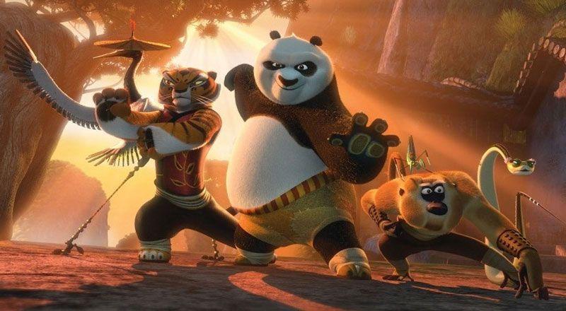 《功夫熊猫2》最新海报 新角色造型曝光