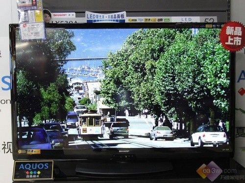低耗电设计 夏普52lx530a液晶电视8999