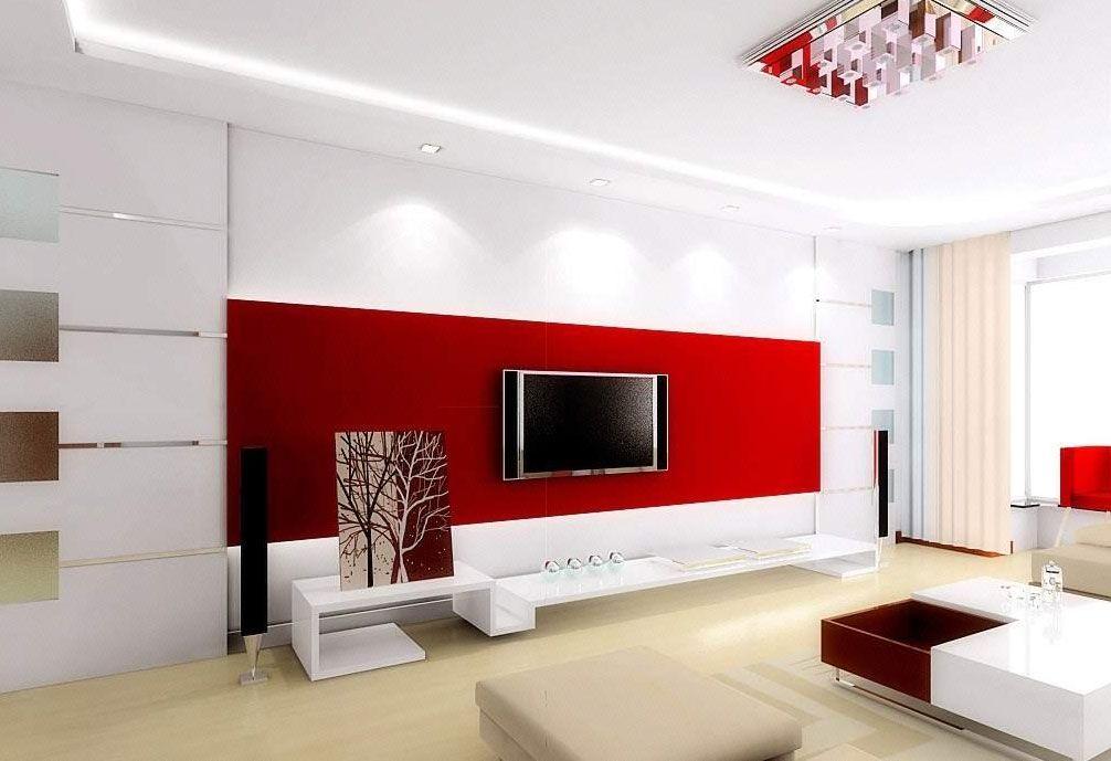 给力客厅装修 电视背景墙效果图大全