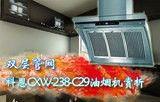 双层管网 科恩CXW-C29油烟机赏析
