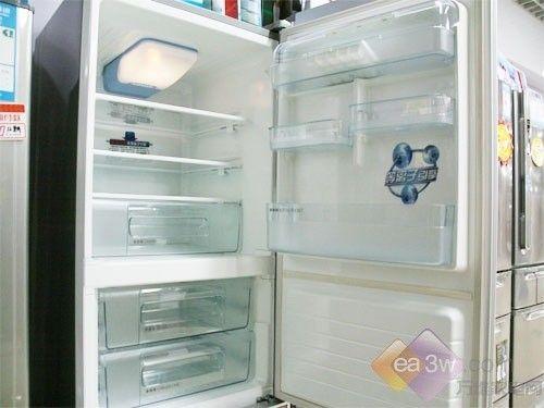 狂降1440 东芝冰钻双开门冰箱热销