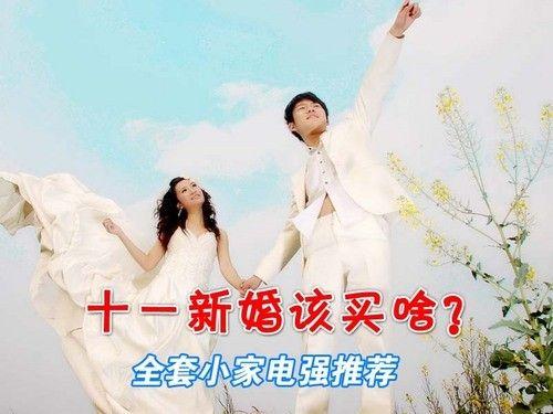 十一新婚该买啥?全套小家电强推荐