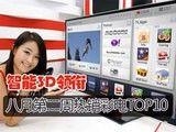 智能3D领衔 八月第二周热销彩电TOP10