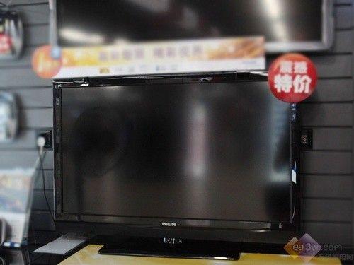 捕捉细节 飞利浦PFL1300电视不足4000元