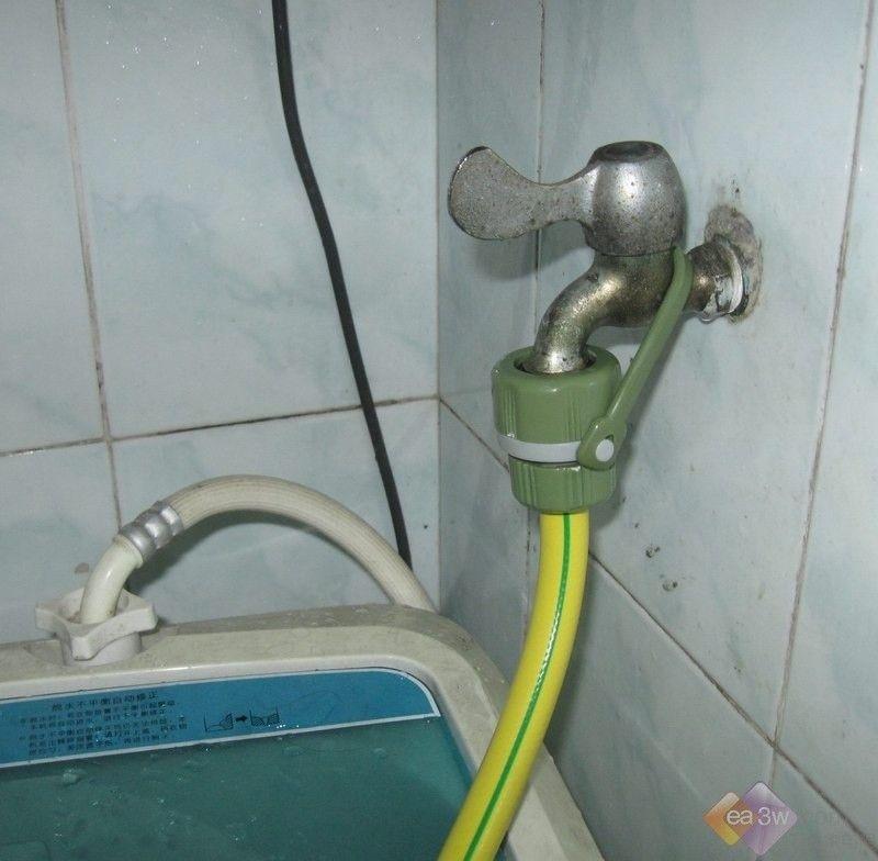 装修必读:如何为洗衣机预留水龙头?