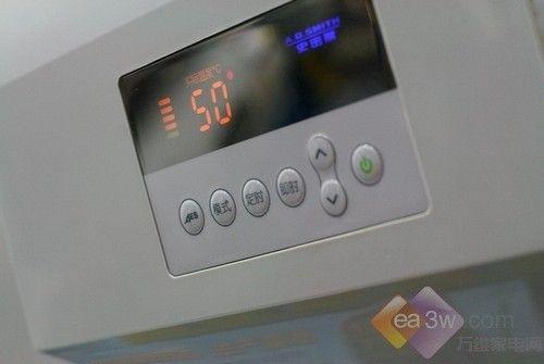 控制面板; 神州热水器省电一半! a.q.史密斯超节能热水器; 省电一半!