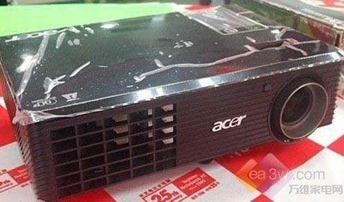 高性价比投影机 宏碁D101E售价2399元