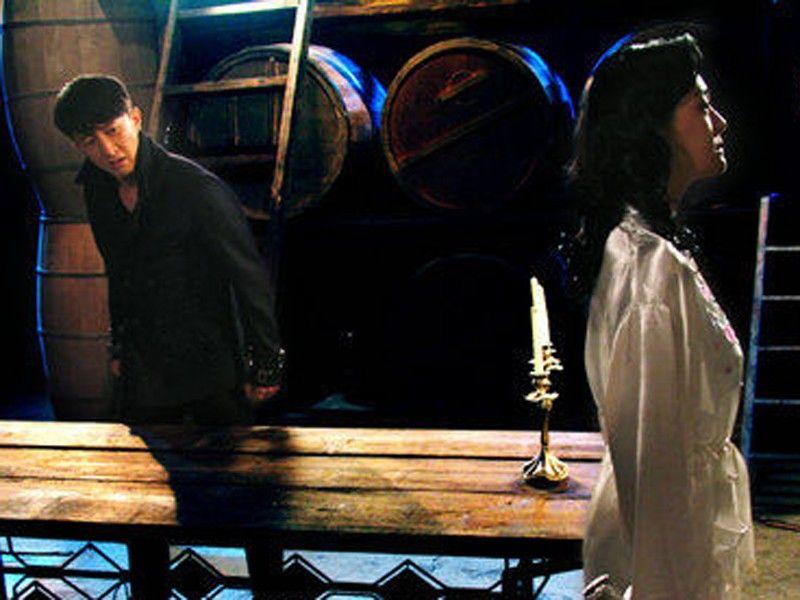 两个男人与一个女人+《大武生》剧照图第18张