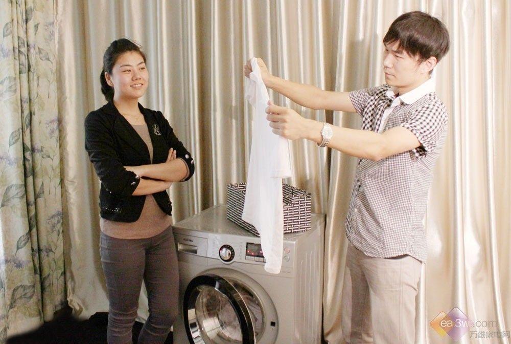 美女主妇洗衣利器!澳柯玛滚筒全球首曝第21张图片