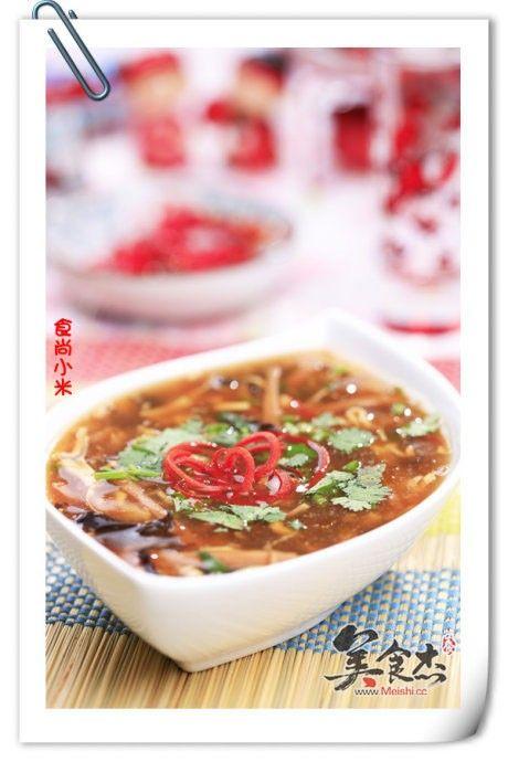 既滋补又不发胖 养生酸辣汤的做法