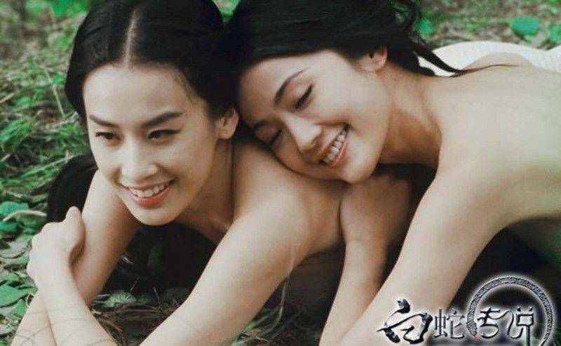 蔡卓妍青蛇剧照