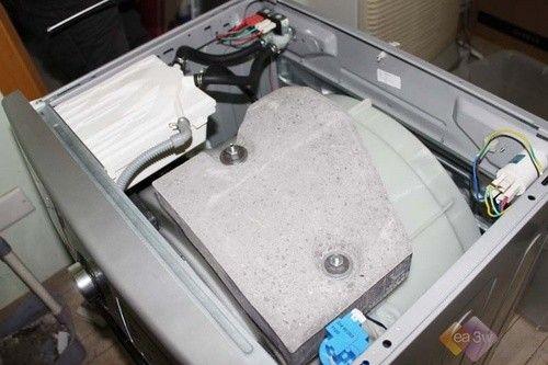 滚筒洗衣机内部结构图解—万维家电网