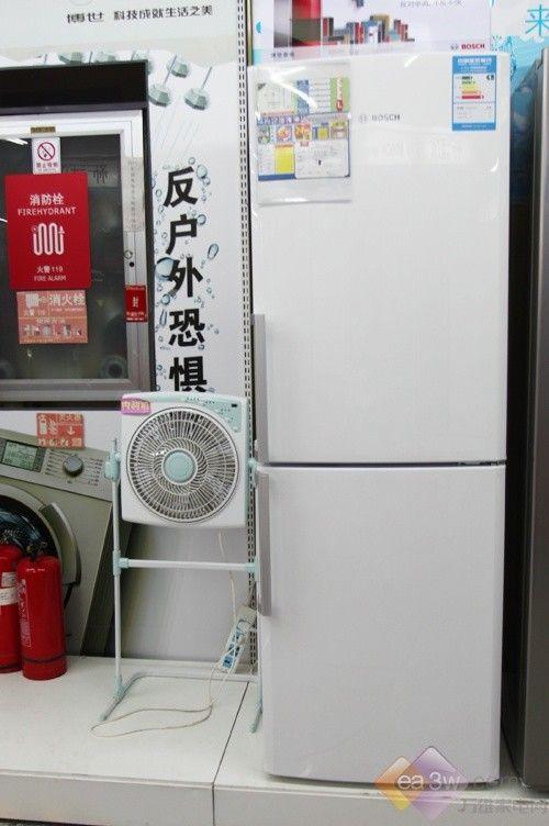 大方白色显气质 博世两门冰箱热卖