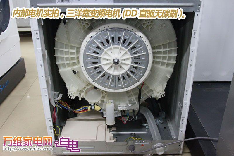 滚筒洗衣机内部结构
