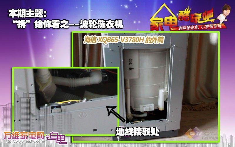 拆卸洗衣机波轮; 半自动洗衣机结构图