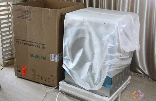 西门子高端极限智能洗衣机开箱体验