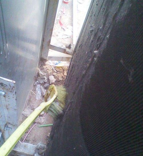 慎入!超脏空调室外机清洗实图曝光