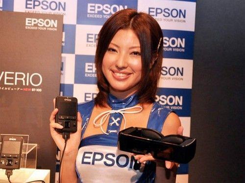 半透式设计 爱普生推出头戴显示器