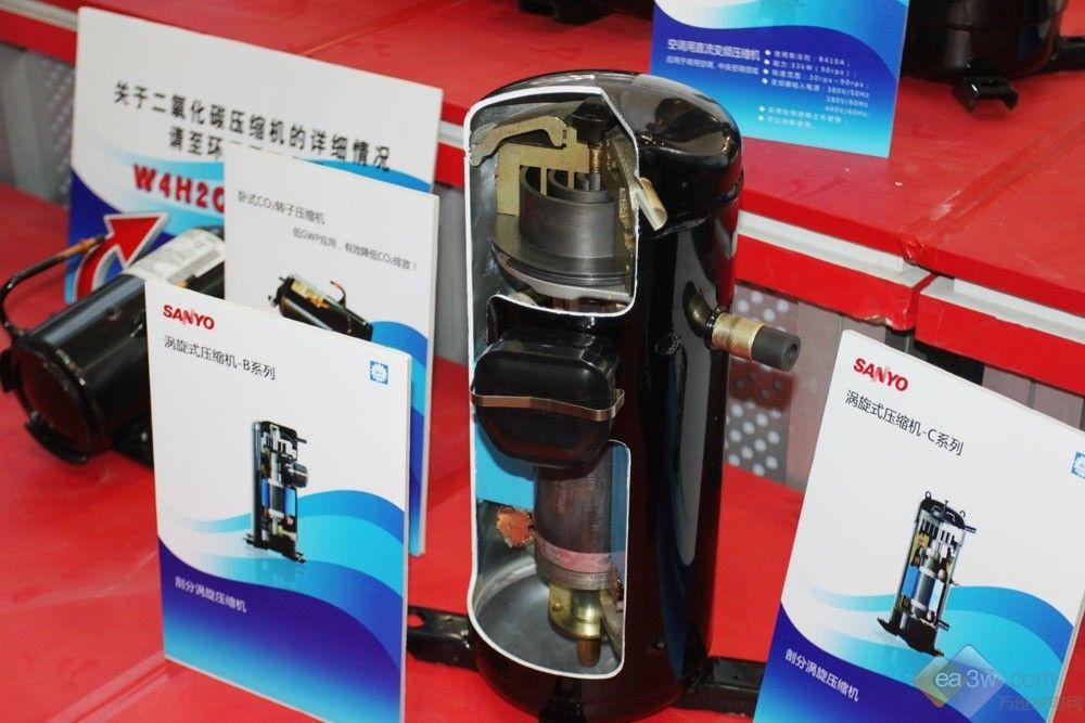 包括商用制冷半封闭压缩机和商用空调用涡旋式压缩机