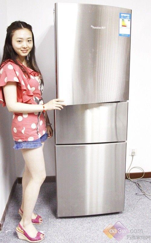 夏日清新有亮点!容声三门冰箱高清图赏