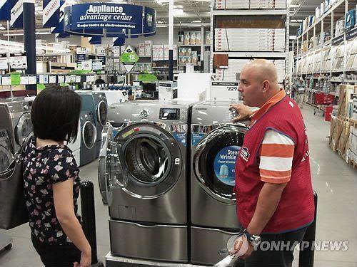 美对韩洗衣机征收反贴补税 最高71.58%