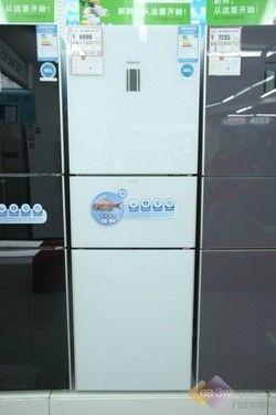 主打真空零度保鲜 西门子三门冰箱热卖