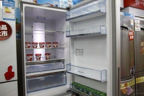 卖场新品抢先看!海信欧式冰箱上市