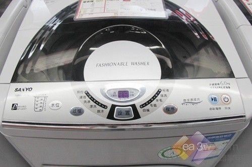 价格已到冰点 三洋千元波轮洗衣机热卖
