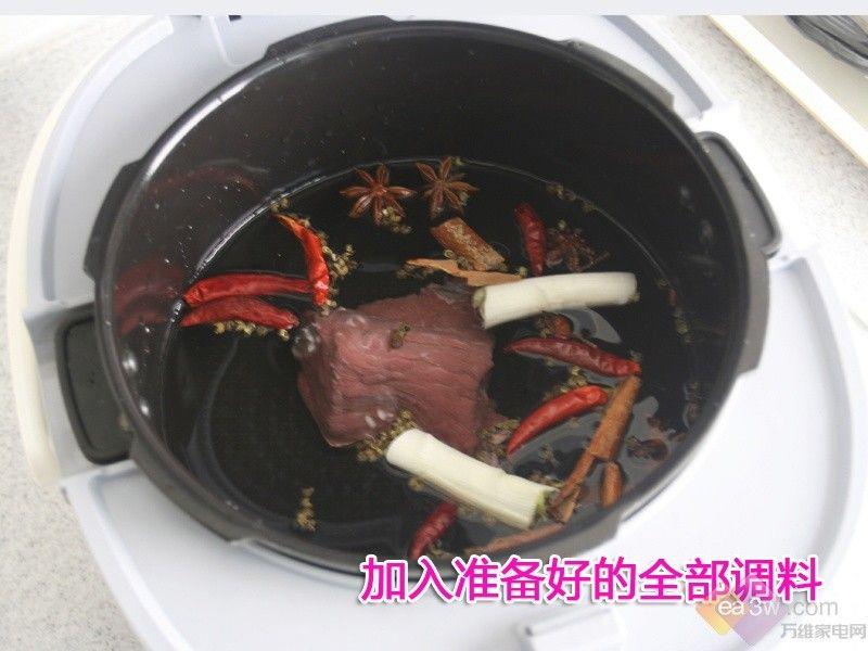 酱牛肉耗电大pk 九阳电压力煲完胜电磁炉