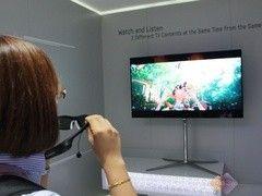 看IFA德国行:一屏双显电视改变视界?