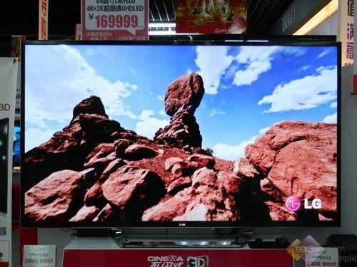 84寸超高清 LG 84LM9600-CA售价17万