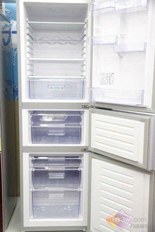 国产家电强势归来 容声三门冰箱热销