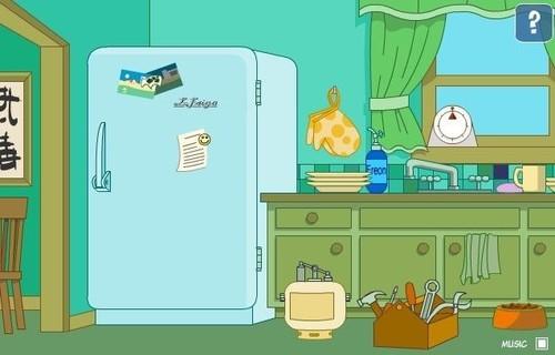 卡通冰箱图片大全