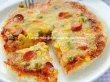 每日一款家常菜:米饭也能做披萨