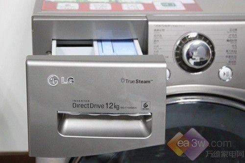 航母般的容量 LG WD-F1495BDS洗衣机首评