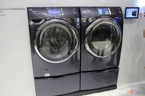 直击美国ces:三星洗衣机智享家居生活