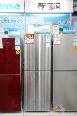 简约经久耐用 海信两门冰箱仅售2599元