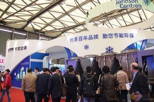 传承百年品牌 直击上海制冷展约克空调