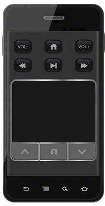 专利屏保遥控界面— 锁屏控制        贝米盒子发明的智能易